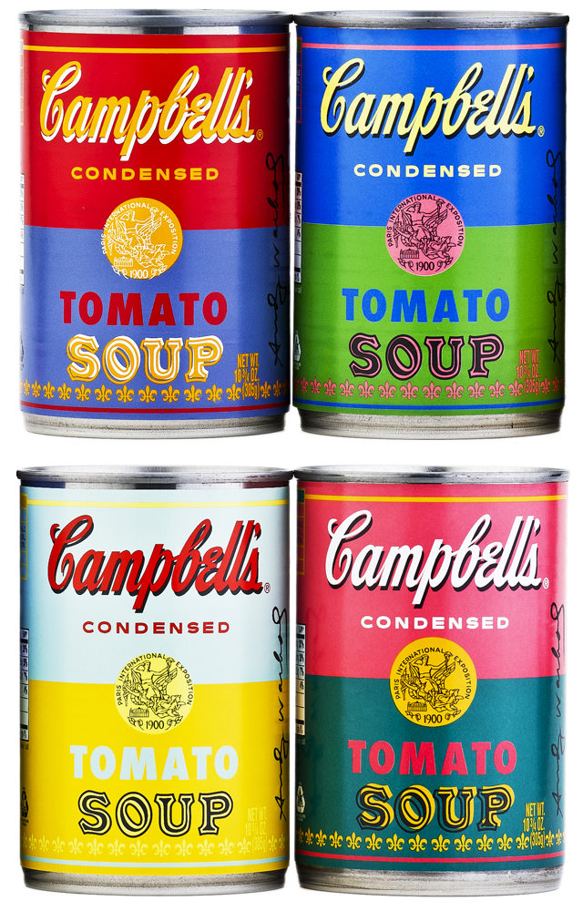 Andy Warhol Limited-edition Soup Cans